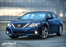 Nissan Altima 2018 For Rent - Silver color