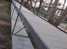 اسكافاري حديد نوعيه ممتازه سهل الفك والتركيب طوله 47 متر وعرضه 80 سم للبيع
