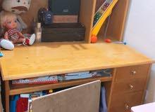 مكتب خشب زان
