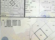 للبيع ارض سكنية ممتازة في المعبيلة الثامنة خلف جامع المكارم