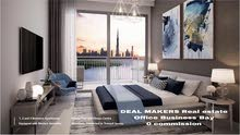 1-2-3 غرف بأقساط ميسرة بوسط مدينة دبي الساحرة سكن واستثمار