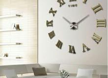ساعات حائط 3d للبيع