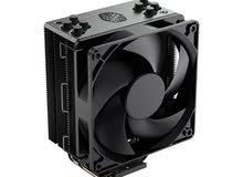 Cooler Master Hyper 212 Black Edition CPU Air Cooler, 4 Direct Contact Heatpipes, 120mm Silencio Fan