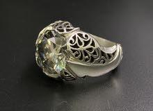 خاتم موزنايت ( بصلابة الألماس )