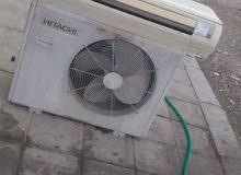 مكيفات 1.5 & 2 طن هيتاشي مستعمل Conditioners 1.5 & 2 tons Hitachi used and in good condition