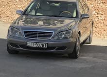 Mercedes Benz S350 car for sale 2004 in Amman city