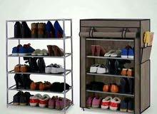 خزائن احذية خمس رفوف بألوان جذابة