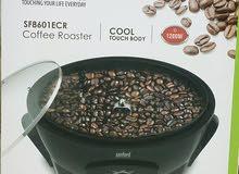 محمصة قهوة كهربائية