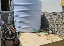 خزان مياه سعة 600 جالون للبيع