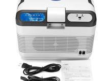 ثلاجه وسخان للسياره او للمنزل 12V/230V ديجيتال جديده بالكرتون