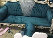 sofa set Arabic majlish recovering restoringطقم كنب عربي ماجليش للشفاء
