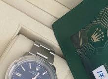 رولكس جديدة بكامل المرفقات 2020 لم تلبس الساعة جميلة وتحفة من تحف رولكس مقاس36