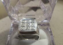 خاتم الماس طبيعي