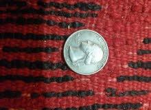 قطعة نقدية امريكية قديمة 1974