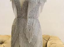 فستان شبه جديد كرستال