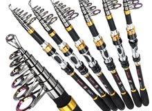New sougayilang fishing rod telescopic carbon 3.3m