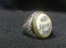 خاتم فضة ايطالي