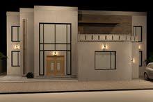 تصميم ثلاثي الأبعاد لخريطة منزل