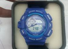 ساعة يد شبابية sanda sports مائية