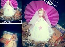 حلويات المولد النبوي مع العروسه او الحصان