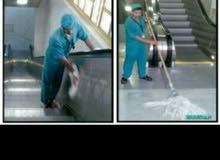 تنظيف الفلل القصور والملاحق بعد تشطيب