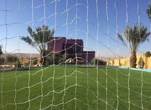 مزرعة فخمة وفيلا مفروشة مع اسطبل خيل وساحة (بادوق)ومسبح وملعب