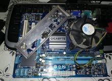 بوردة جيجا بايت G41 DDR3 ورامه و بروسيسور