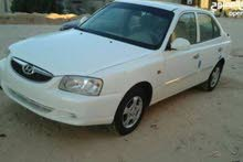 For rent 2010 White Verna