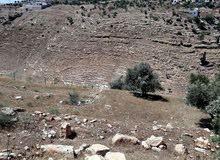 قطعة أرض على أكتاف وادي الغفر 1600متر للبيع بسعر مغري