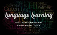 Private Tuitions English, German, French