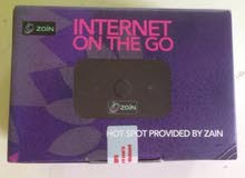 للبيع راوتر زين 4G جديد بالكرتون