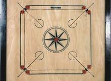 لوح كيرم خشبي مع اغراضه شامل التوصيل والدفع عند الاستلام لجميع إماراة الدوله