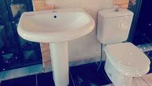 طقم حمام ايطالي ابيض