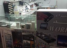 للبيع ورشة هواتف قاءمة 7 سنوات في حزلي مجمع الاوحد 2
