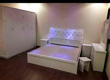 غرف نوم شامل التوصيل والتركيب