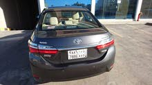 Automatic Grey Toyota 2018 for sale
