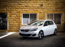 Peugeot 308 car for sale 2017 in Amman city