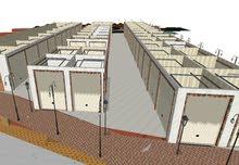 مشروع للإستثمار ، بناء سوق دورين+صالة مناسبات