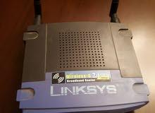 راوتر Linksys بحالة الجديد