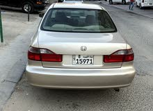 سيارة هوندا اكورد نظيفة جدا بيمة سنة الا شهرين