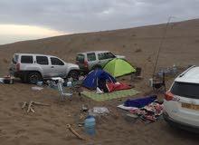 تاجير خيمة رحلات جميلة سهلة الفتح والطي .. متوسطة 4 اشخاص