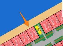 أرض للبيع في مدينة صباح الاحمد البحرية بالمرحلة الثالثة A رقم القسيمة : 1204