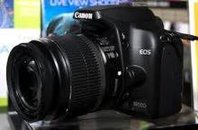 كاميرا كانون 1000d للبيع