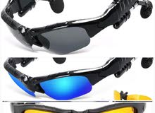 Bluetooth stereo handsfree Sunglasses نظارة بلوتوث شمسية