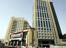 SERVICED OFFICES. AL MUSALLA TOWERS. BURJUMAN-FAHIDI METRO STATIONS. DIRECT OWNER