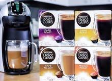 مكائن القهوة 350ريال كبسولات القهوة