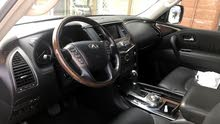 Infiniti QX56 2012 Model Silver Car for Sale