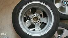 جنوط BMW مقاس 17 مع كفرات GT Radial