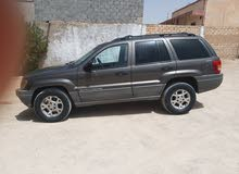 Automatic Brown Jeep 2002 for sale