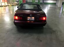 Maroon Mercedes Benz CL 350 1996 for sale